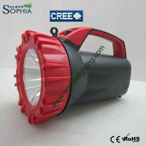 CREE LED Rotating Marine Search Light/ Rechargeable Hand Hold Waterproof LED Flashlight