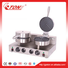 High Quality 2 Plate Electrical Waffle Maker pictures & photos