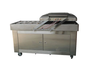 Large Double-Chamber Food Industrial Sealer Vacuum Packing Machine pictures & photos