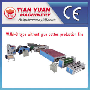 Nonwoven Polyester Fiber Wadding Production Line (WJM-3) pictures & photos