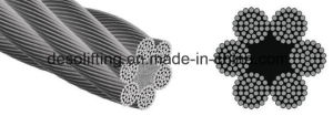 High Quality Steel Wire Rope 6*37 From China pictures & photos