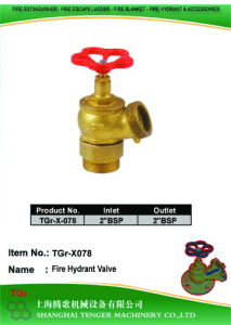 "Pressure Reduce Angle Hydrant Valve: 2""Bsp==2""Bsp pictures & photos"