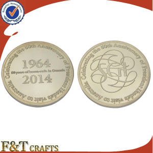 Casting 3D Embossed Custom Gold Silver Copper Coin (FTCN1954A) pictures & photos