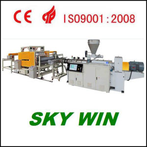 PVC/Asa/PMMA Glazed Roof Tile Extrusion Production Line