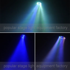Lens Rotating 19PCS *15W RGBW 4in1 LED Zoom Beam Moving Head Light pictures & photos