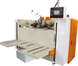 High Speed Semi-Automatic Corrugated Carton Box Stitching Machine pictures & photos
