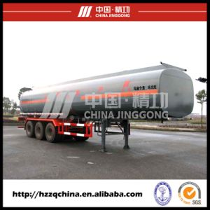 Liquid Tanker Material Semi-Trailer, LNG Tank Trailer 56000L Coming From China pictures & photos