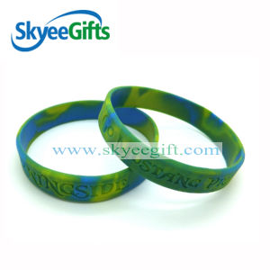 Swriled Silicone Bracelets for Party pictures & photos