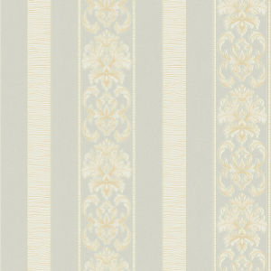 Floral and Stripe Decorative PVC Vinyl Wallpaper for Project pictures & photos