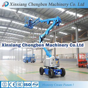 Elevator Machine Aerial Platform Articulating Boom Lift Table with Factory Price pictures & photos