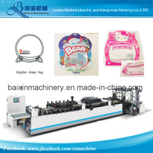 BOPP Pet PE Laminated Material Irregular Shape Juice Bag Drinking Pouch Making Machine pictures & photos