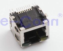 Single-Port Magnetic Modular Jacks, Rj 45, Poe Jacks. pictures & photos