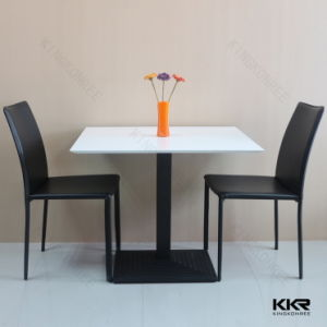 Coffee Shop Solid Surface Modern Dining Tables pictures & photos