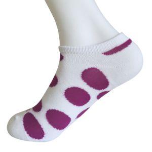 Half Cushion Poly Fashion No Show Big Circle Socks (JMPN05) pictures & photos