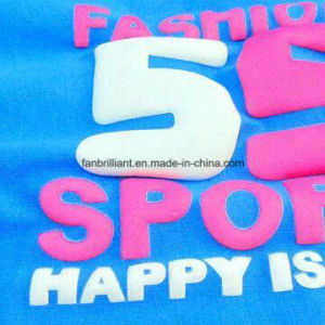 3D Foeming Heat Transfer Sticker for All Kinds of Cloth