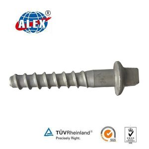 M24X140 Wooden Sleeper Screw Spike