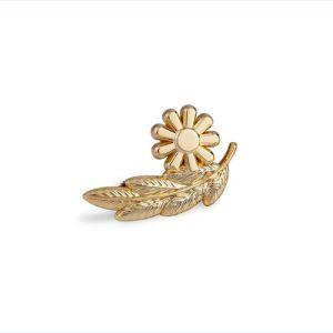 Custom Metal Golden Lapel Pin, Organizational Badge (GZHY-KA-024) pictures & photos