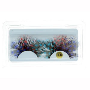 Creative Makeup Colorful Handmade Feather False Eyelashes pictures & photos