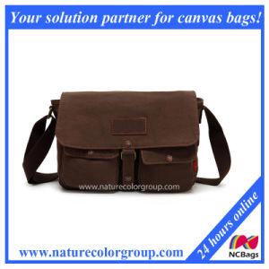2016 Wholesale New Hot Product Canvas Shoulder Bag, Canvas Messenger Bag (MSB-013) pictures & photos