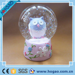 Polyresin Owl Snow Globe (HG173) pictures & photos