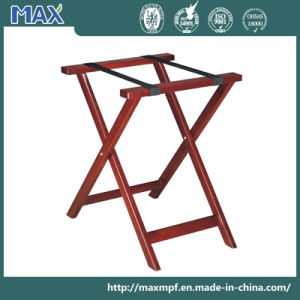 Modern Folding Wooden Hotel Room Luggage Racks pictures & photos