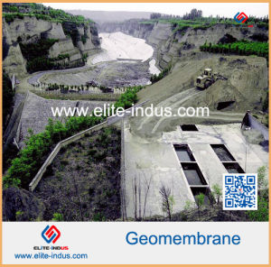 HDPE Geomembrane for Sewage Treatment Plant pictures & photos