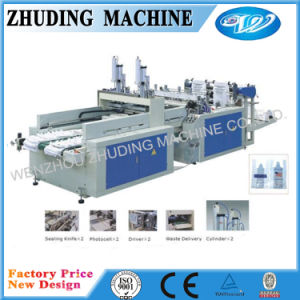 High Speed Plastic Carry Bag Making Machine pictures & photos