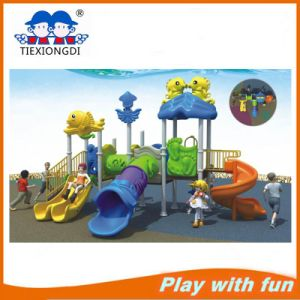 2016 Newest Kids Swings and Slides Outdoor Playground Sets for Sale pictures & photos