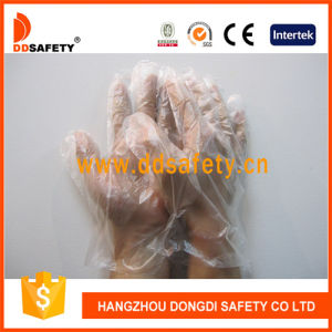 Ddsafety 2017 PE Disposable HDPE/LDPE Working Glove pictures & photos