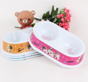 (BC-PE1005) High Quality Reusable Melamine Pet Basin pictures & photos