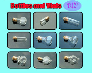 Perfume Vials, Essential Oil Bottle,