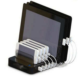 Quick Charging Multi 7 Port USB Charger Station for iPad pictures & photos