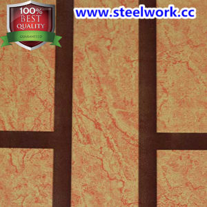 New Product Wooden Grain Pattern Steel Sheet (CC-17)