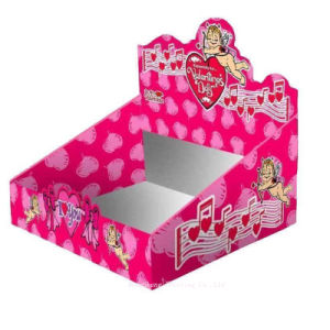 Delicate Design of Paper Display Packing Box with Special Shape
