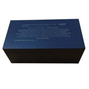 Luxury Black Card Paper Gift Packaging Box for Car Model pictures & photos