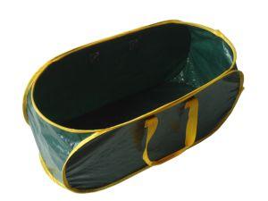 PE Woven Pop up Garden Waste Container pictures & photos