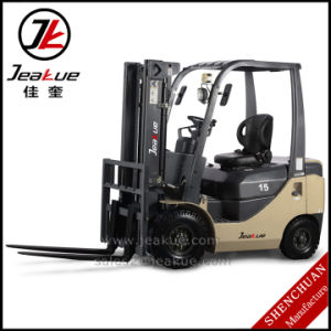 German Quality 1.5t Counterbalance Diesel Forklift pictures & photos