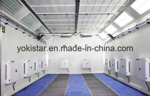 Spray Booth Perparation Infrared Curing Heating Lamp On Wall Panel pictures & photos