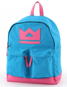 Blue/Pink Girls School Backpack Bag pictures & photos