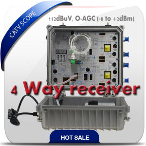 CATV 2 Way Optical Receiver 5-1000MHz pictures & photos