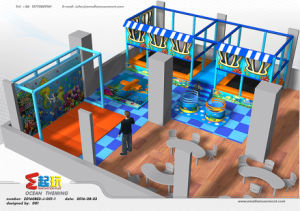Ocean Themed Commercial Indoor Playground with High Quality pictures & photos