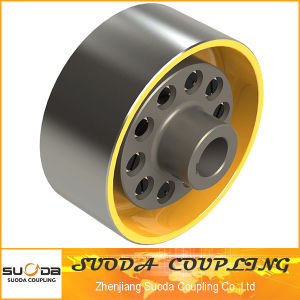 Pin Coupling with Elastic Sleeve with Brake Wheel pictures & photos