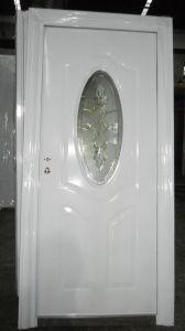 White Glass Steel Door (WX-LSG-111) pictures & photos