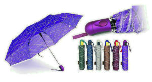 Inscriptions Print Quality Windproof 3 Fold Umbrellas (YS-3FA22083965R)