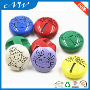 Fancy Cute Kids Plastic Resin Button pictures & photos
