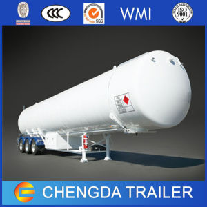 Tri-Axle Tanker Trailer for LNG Transportation for Sale pictures & photos