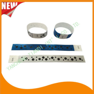 Entertainment Tyvek Customed Cheap Party VIP Paper Wristbands (E3000-1-33) pictures & photos