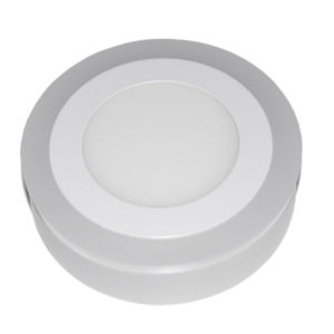 LED Ceiling/Hot Sell Double Color Round Panel Light pictures & photos