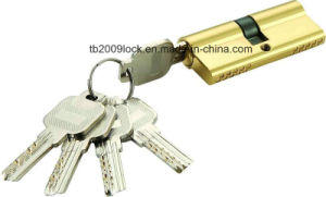 High Security Double Pins Computer Key Cylinder (C3370-241 BP) pictures & photos