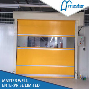 High Wind Resistance Aluminum High Speed Coiling Doors pictures & photos